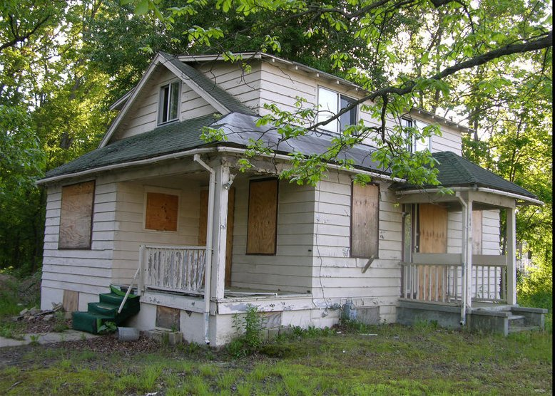 paid cash for this junk house in houston